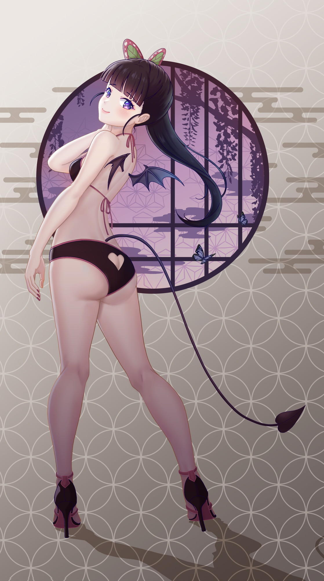 栗花落カナヲ 鬼滅の刃エロ画像081