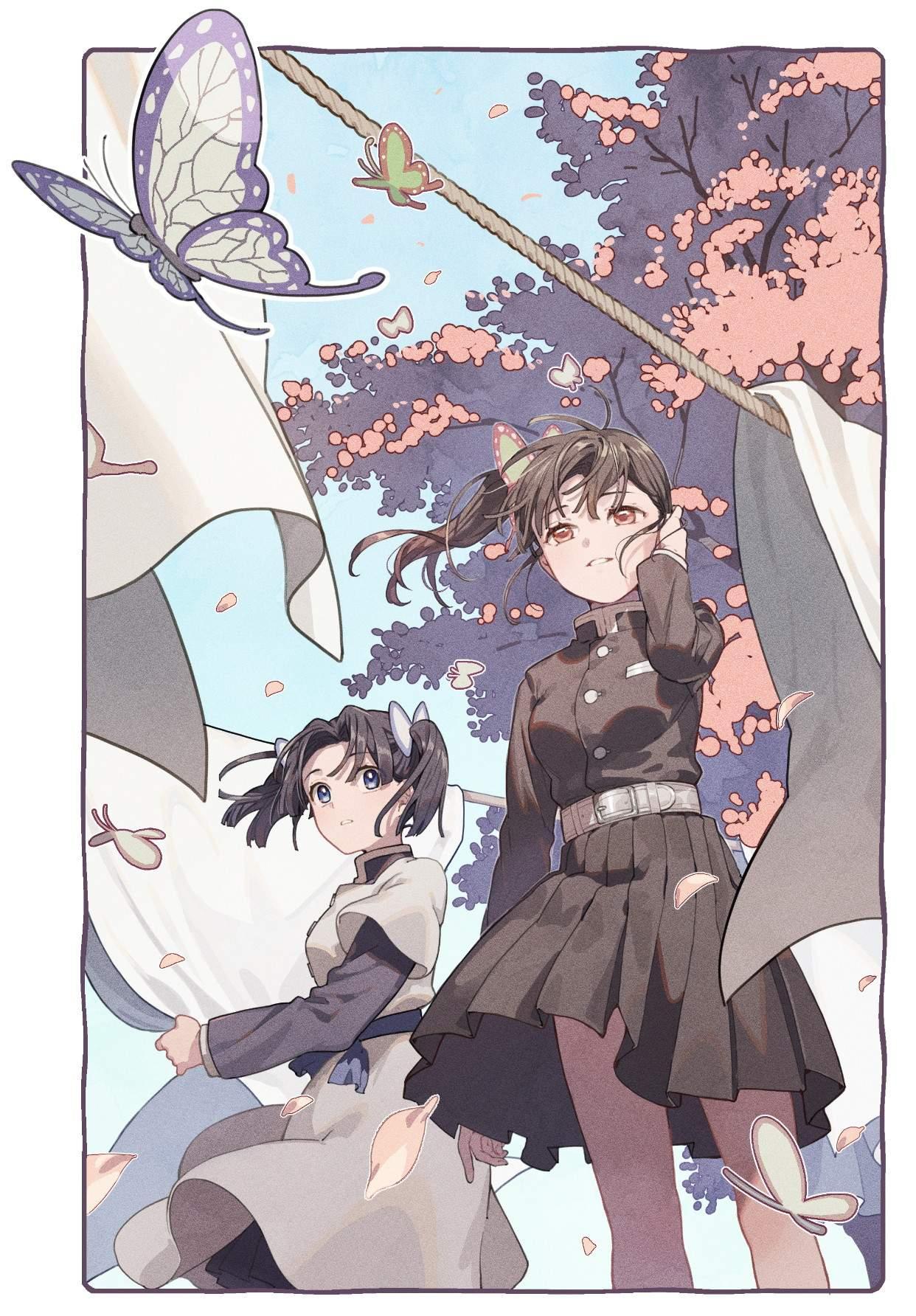 栗花落カナヲ 鬼滅の刃エロ画像092