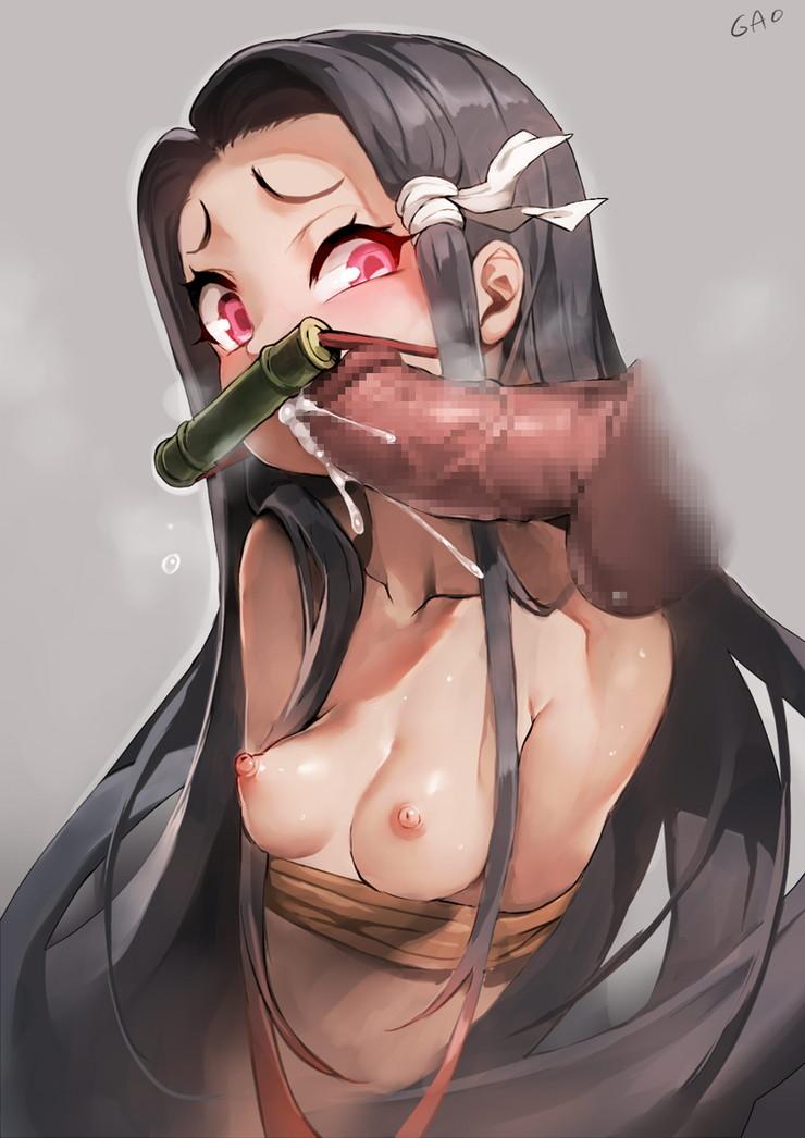 竈門禰豆子 鬼滅の刃エロ画像096