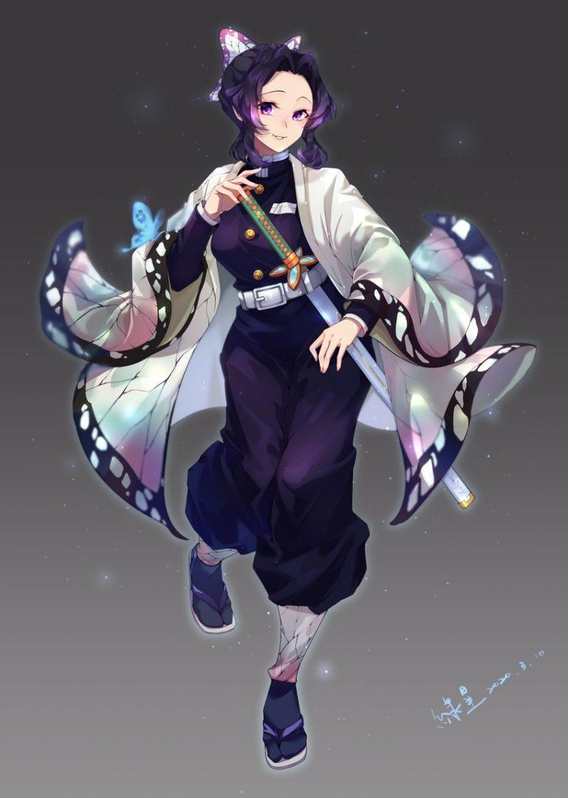 胡蝶しのぶ鬼滅の刃エロ画像002