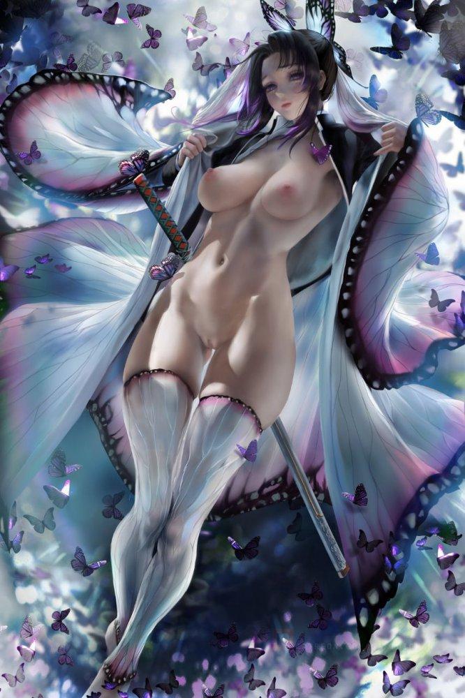 胡蝶しのぶ鬼滅の刃エロ画像009