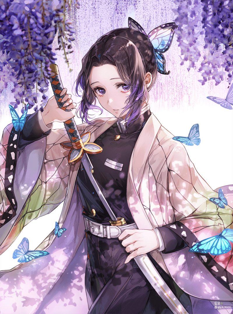 胡蝶しのぶ鬼滅の刃エロ画像057