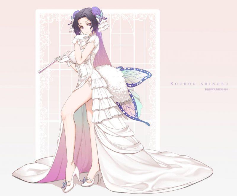 胡蝶しのぶ鬼滅の刃エロ画像071