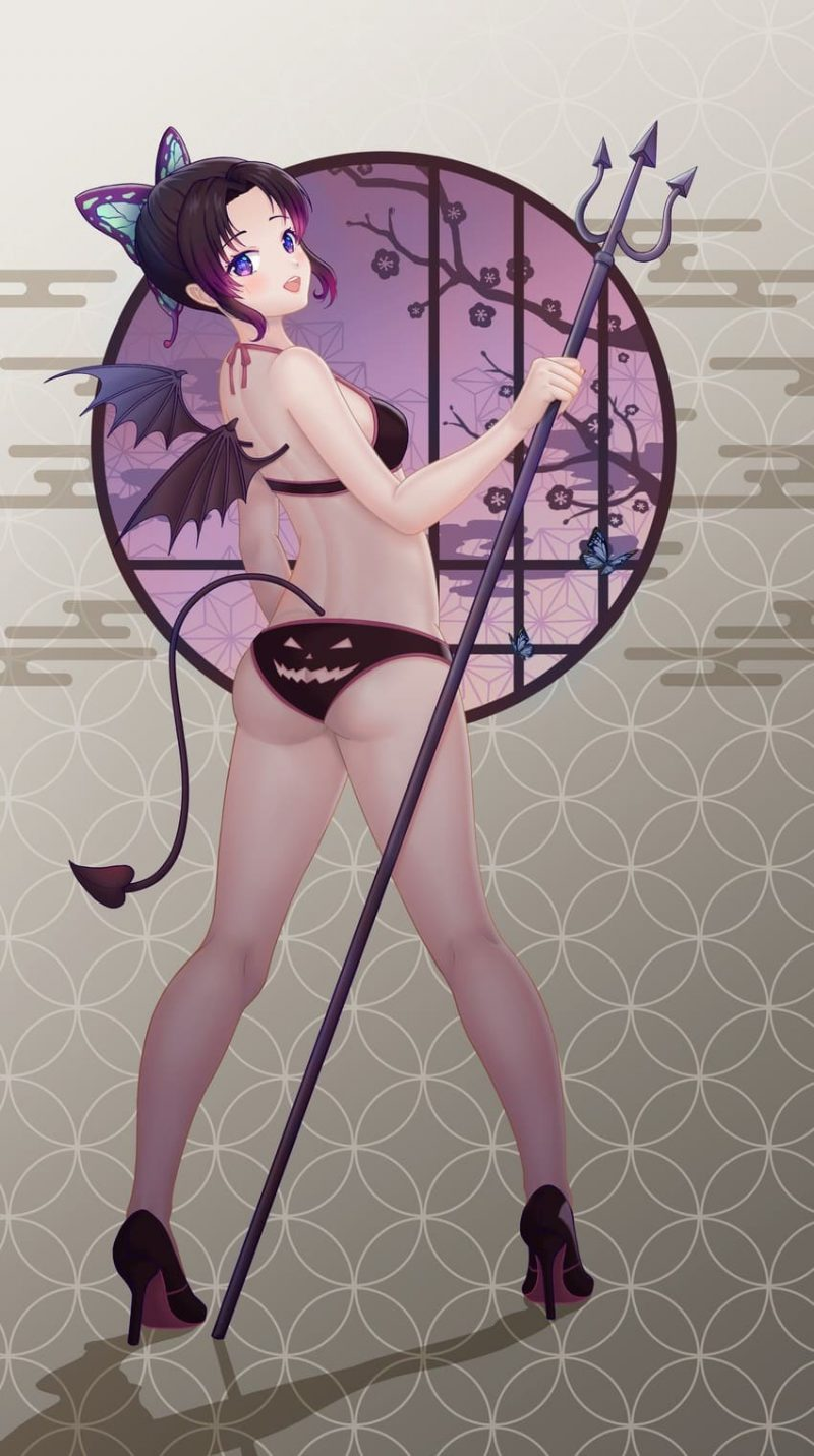 胡蝶しのぶ鬼滅の刃エロ画像077