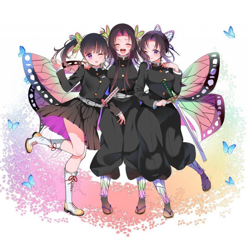 胡蝶しのぶ鬼滅の刃エロ画像084