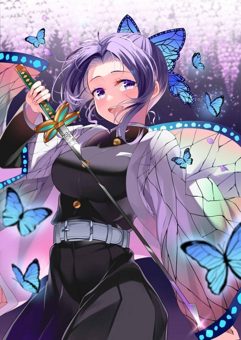 胡蝶しのぶ 鬼滅の刃エロ画像117