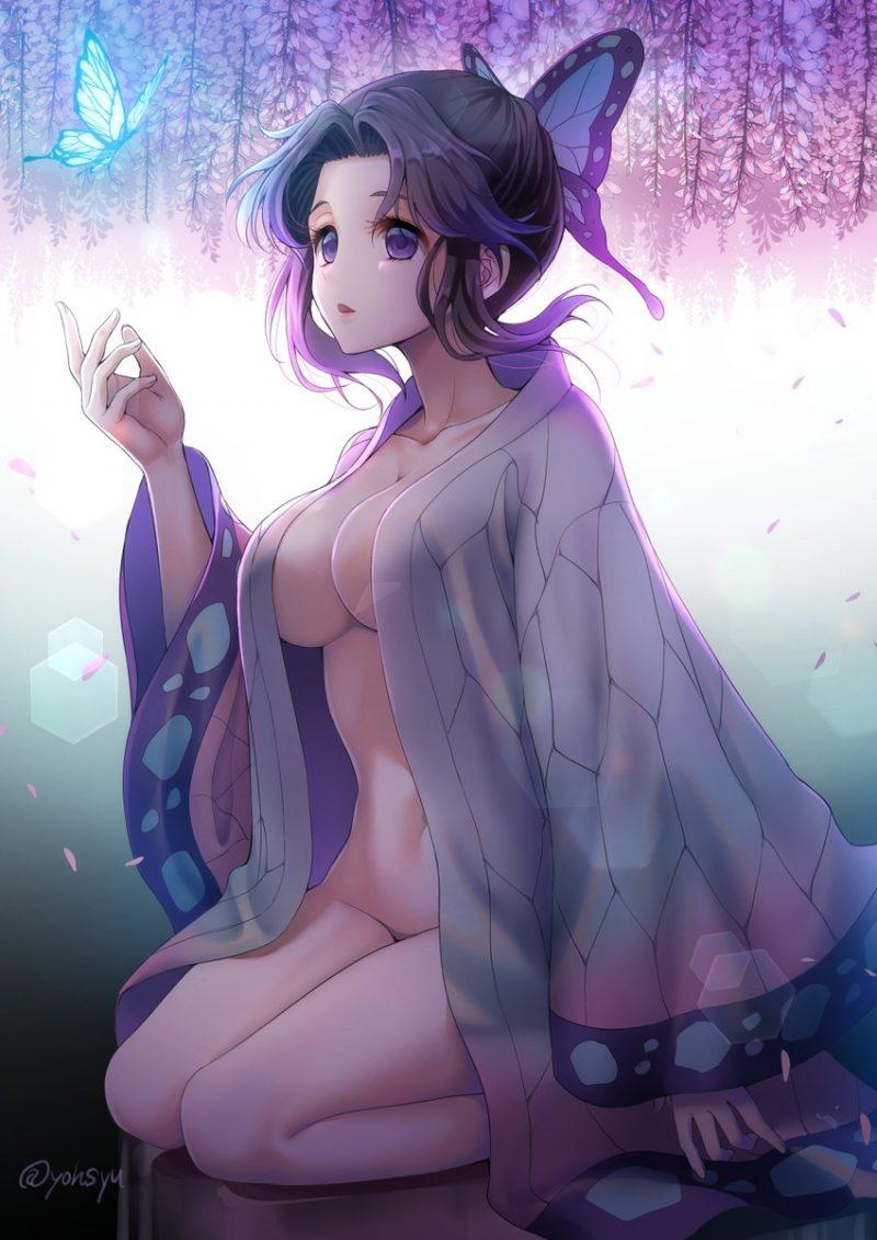 胡蝶しのぶ 鬼滅の刃エロ画像140
