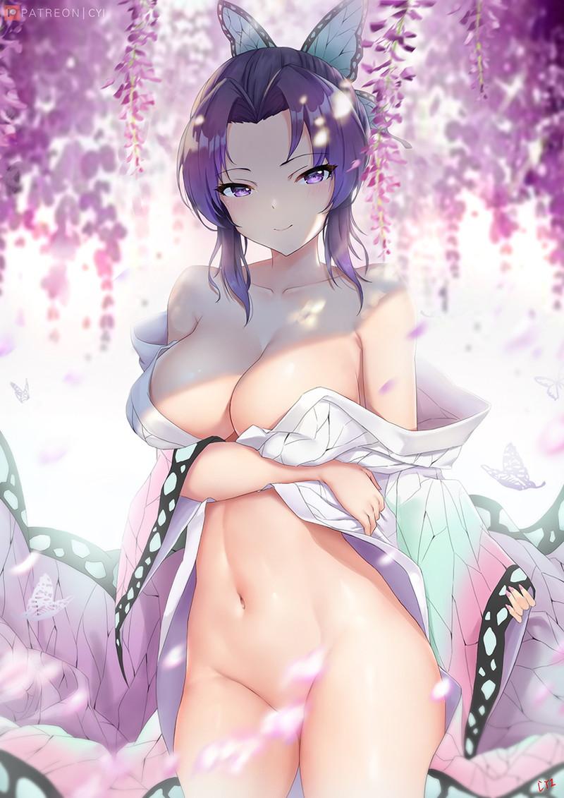 胡蝶しのぶ 鬼滅の刃エロ画像152
