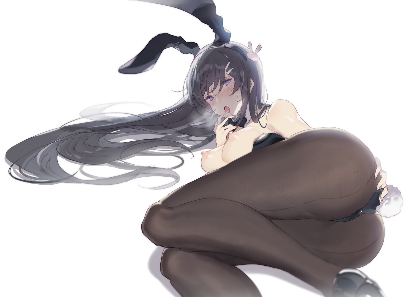 桜島麻衣 青春ブタ野郎エロ画像122