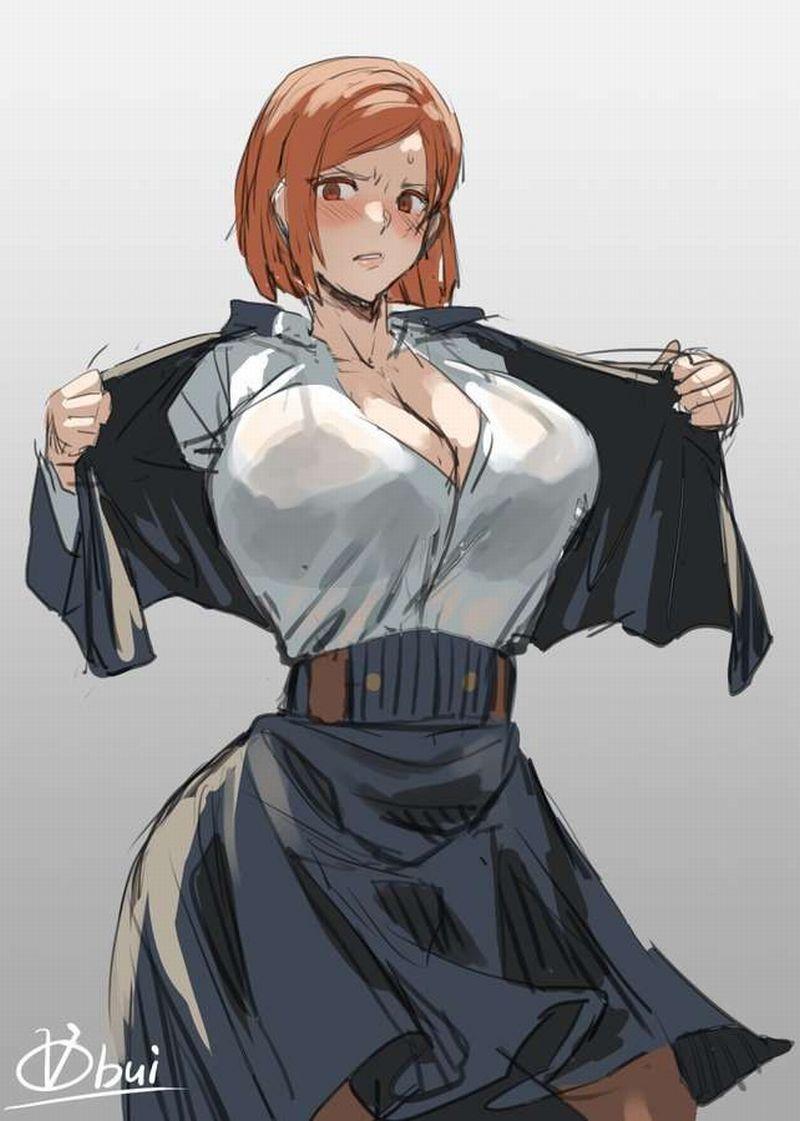 釘崎野薔薇呪術廻戦エロ画像018
