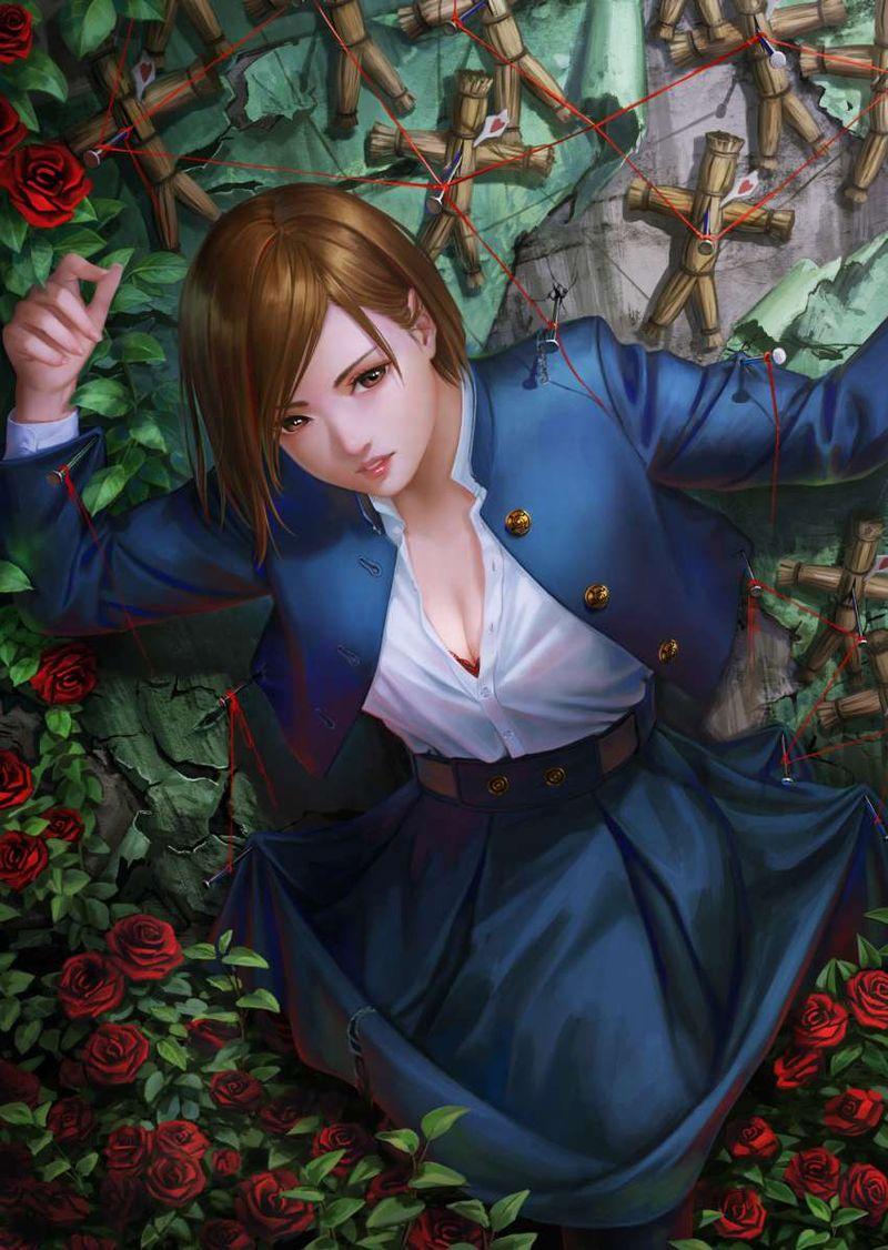 釘崎野薔薇呪術廻戦エロ画像033
