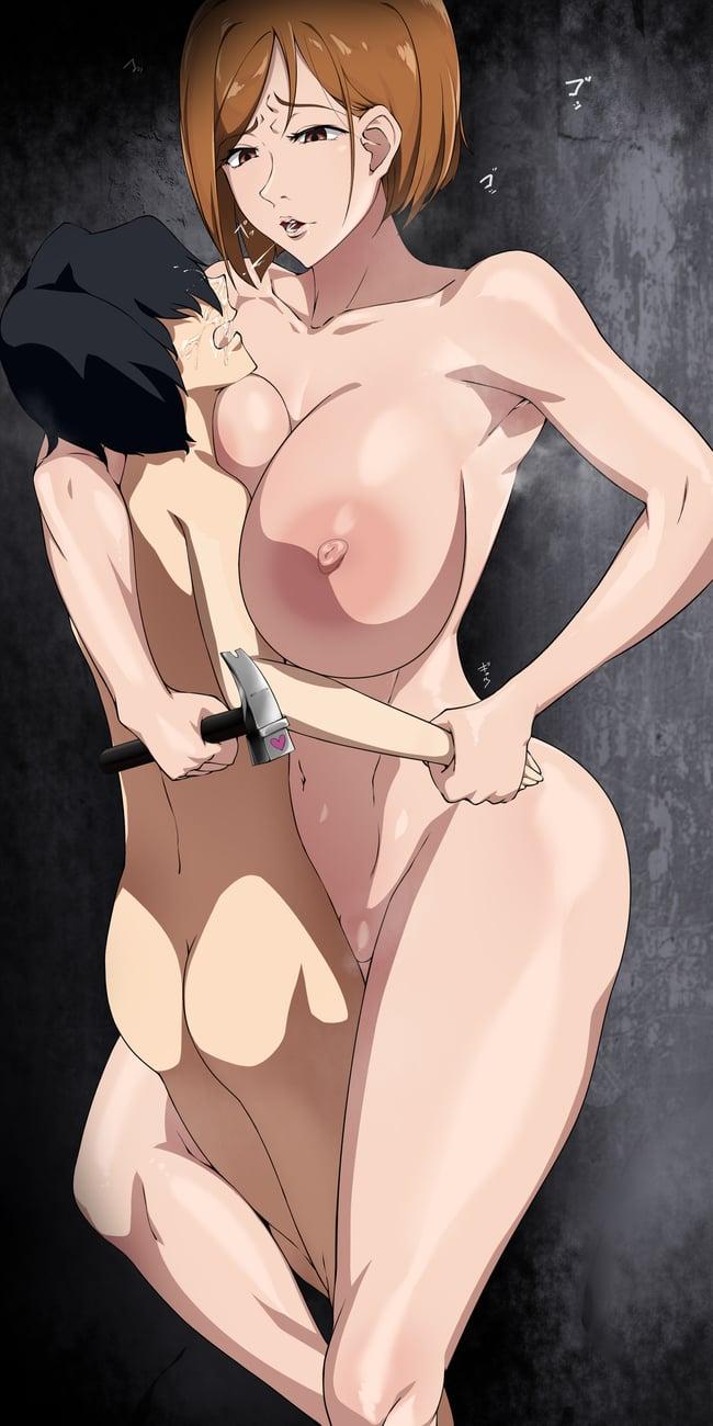 釘崎野薔薇 呪術廻戦エロ画像121