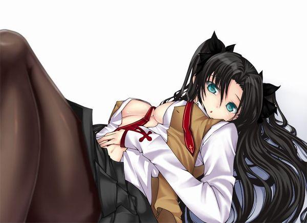 遠坂凛 Fate/stay nightエロ画像132