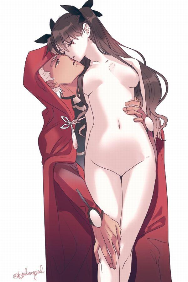 遠坂凛 Fate/stay nightエロ画像133